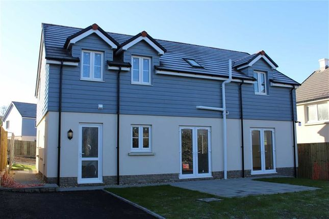 Thumbnail Detached house for sale in Plot 10 Green Meadows Park, Narberth Road, Tenby