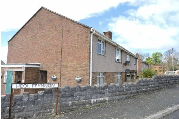 Thumbnail Flat to rent in Heol Ffynnon, Swansea