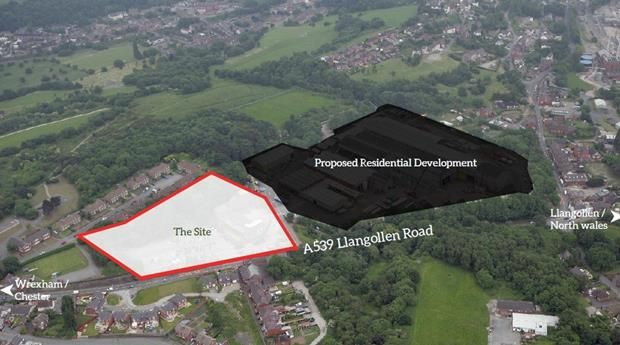 Thumbnail Commercial property for sale in Acrefair, Llangollen Road, Acrefair, Wrexham, Clwyd