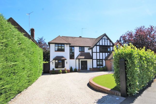 Thumbnail Detached house for sale in Burses Way, Hutton Bursees, Brentwood