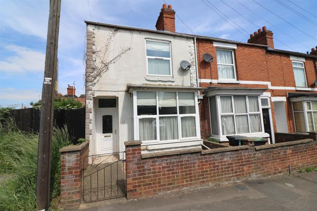 Thumbnail End terrace house for sale in Washbrook Road, Rushden