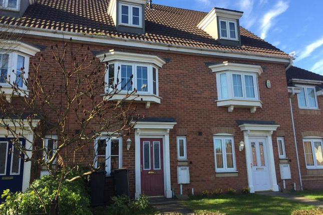 Thumbnail Terraced house to rent in Waggestaff Drive, Nuneaton, Warwickshire