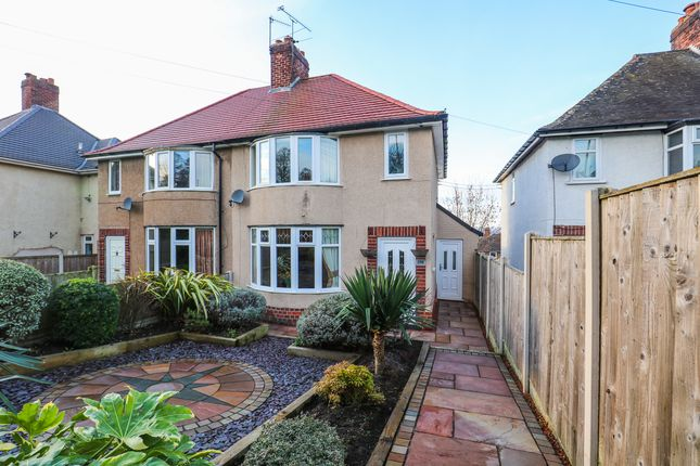 Thumbnail Semi-detached house for sale in The Bungalows, Brimington Road North, Whittington Moor, Chesterfield