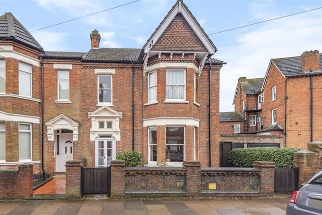 Thumbnail Semi-detached house for sale in Castle Road, Bedford