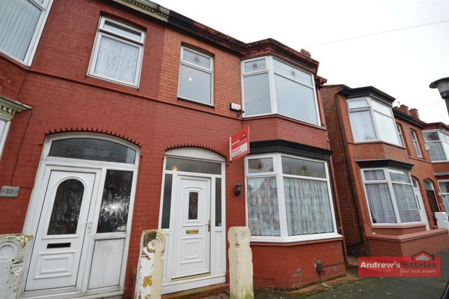 Thumbnail Property to rent in Carrington Road, Wallasey