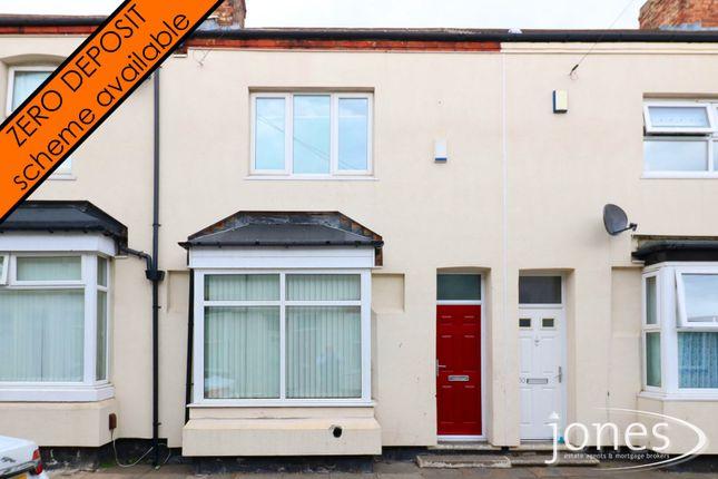 Thumbnail Terraced house to rent in Elleburne Street, Stockton On Tees