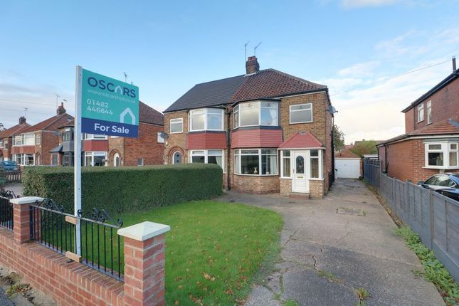 Thumbnail Semi-detached house for sale in Hull Road, Anlaby, Hull