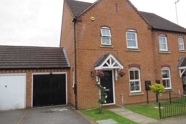 Thumbnail Semi-detached house for sale in The Oaks, Grange Park, Northampton