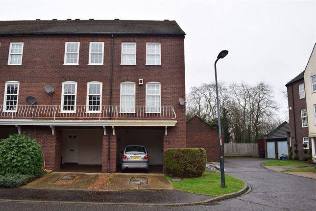 Thumbnail End terrace house for sale in Park Crescent, Twickenham