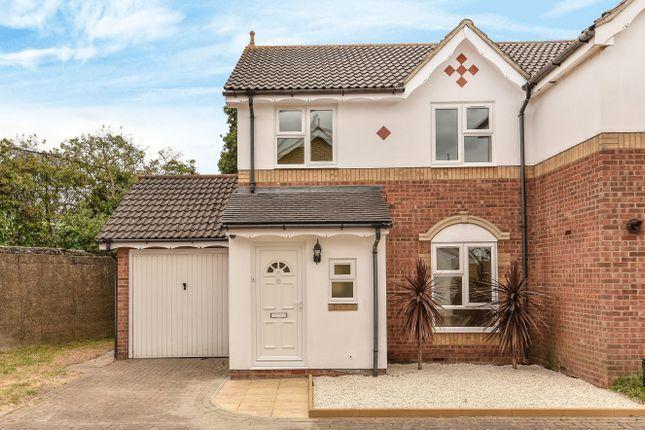 Thumbnail Semi-detached house to rent in Hadleigh Close, Merton Park, London