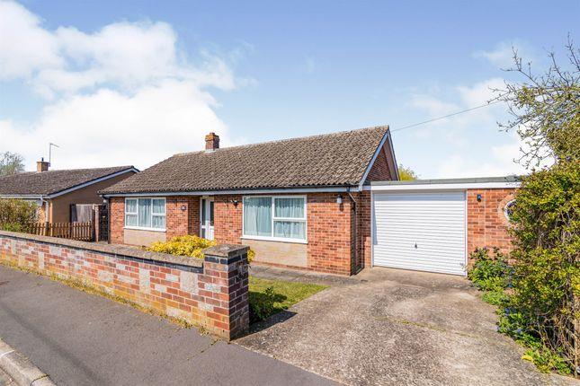 Thumbnail Detached bungalow for sale in Farm Close, Bungay