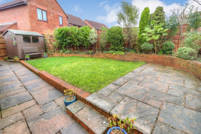 Rear Garden of Drummond Way, Macclesfield SK10