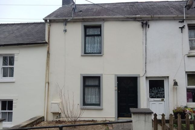 Thumbnail Terraced house for sale in Castle Street, Cardigan