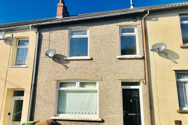 Thumbnail Terraced house to rent in Lady Tyler Terrace, Rhymney, Tredegar