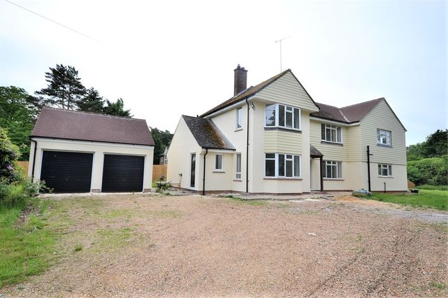 Thumbnail Detached house for sale in Lynford Road, Mundford, Thetford