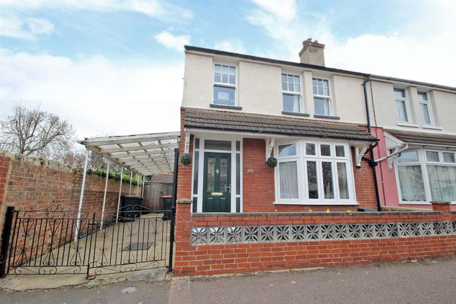 Thumbnail Semi-detached house for sale in Myrtle Road, Bedford
