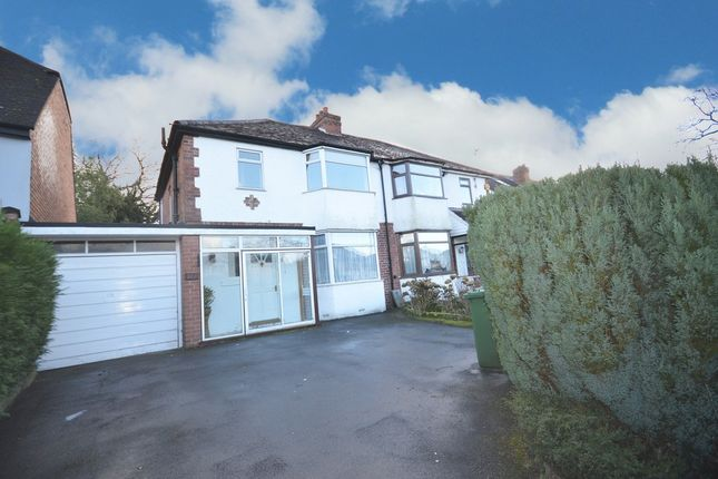 3 bed semi-detached house for sale in Streetsbrook Road, Shirley, Solihull