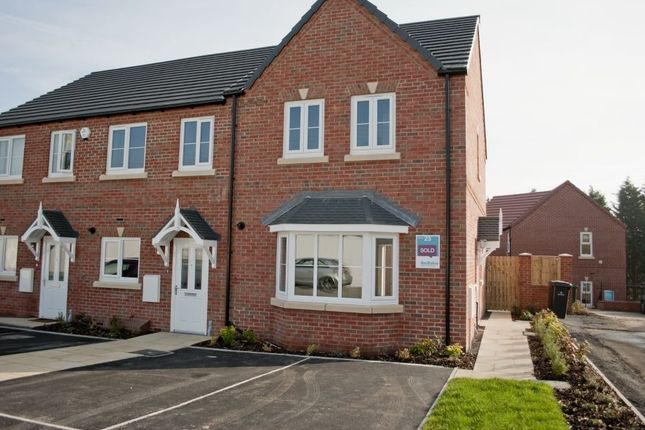 Thumbnail End terrace house to rent in Kingfisher Drive, Mexborough, South Yorkshire
