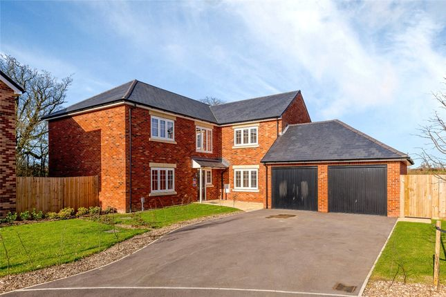 Thumbnail Detached house for sale in Oakfield Lane, Ashford Hill, Thatcham, Hampshire