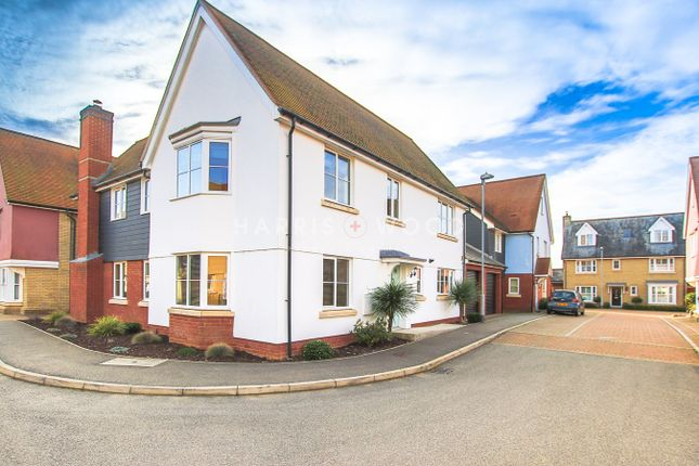 Thumbnail Detached house for sale in Walnut Drive, Mile End, Colchester