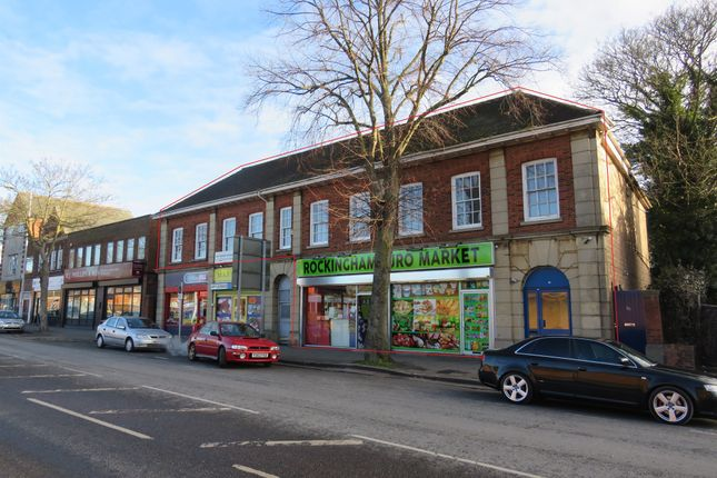 Thumbnail Flat for sale in Rockingham Road, Kettering