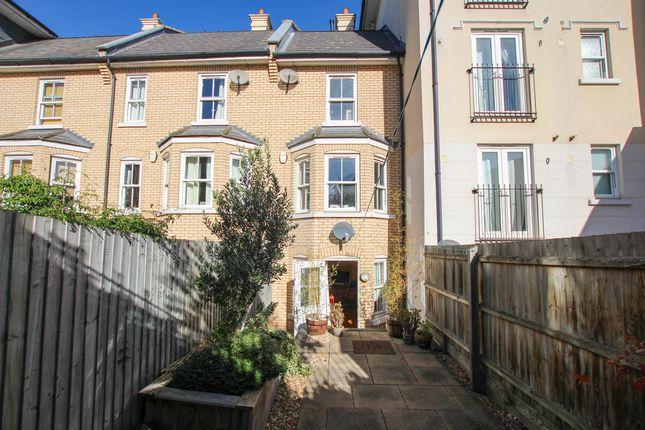 Thumbnail Terraced house for sale in St. Matthews Gardens, Cambridge