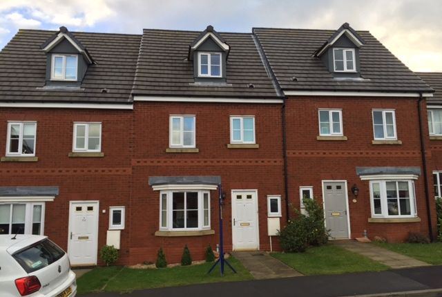 Thumbnail Town house to rent in Hartley Green Gardens, Billinge, Wigan