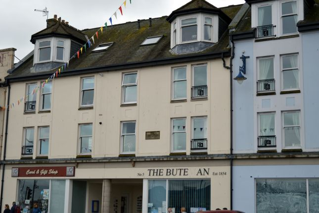 Thumbnail Flat for sale in Flat 5, Victoria Place, 44, Montague Street, Rothesay, Isle Of Bute