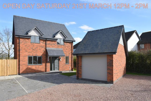 Thumbnail Detached house for sale in Welland Road, Hanley Swan, Worcester