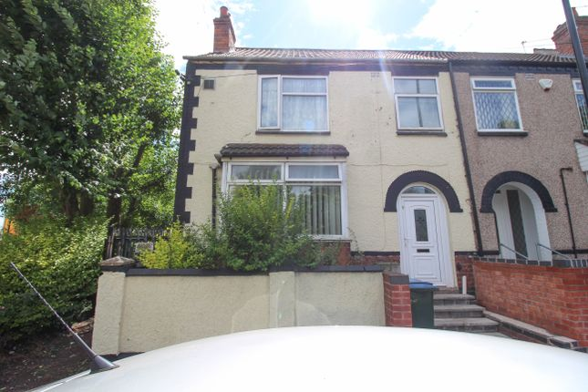Thumbnail End terrace house for sale in Beresford Avenue, Foleshill, Coventry
