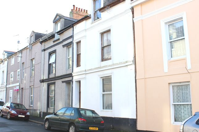 Thumbnail Terraced house for sale in Wolsdon Street, North Road West, Plymouth
