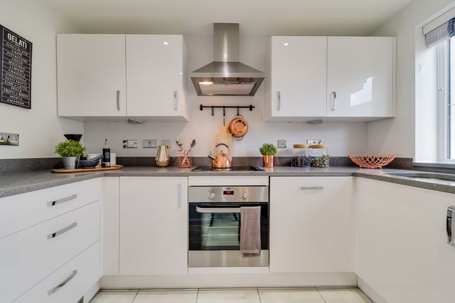 "Thumbnail Terraced house for sale in ""Richmond"" at Langaton Lane, Pinhoe, Exeter"