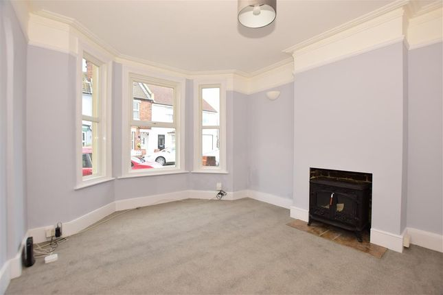 Thumbnail Terraced house for sale in Richmond Street, Cheriton, Folkestone, Kent