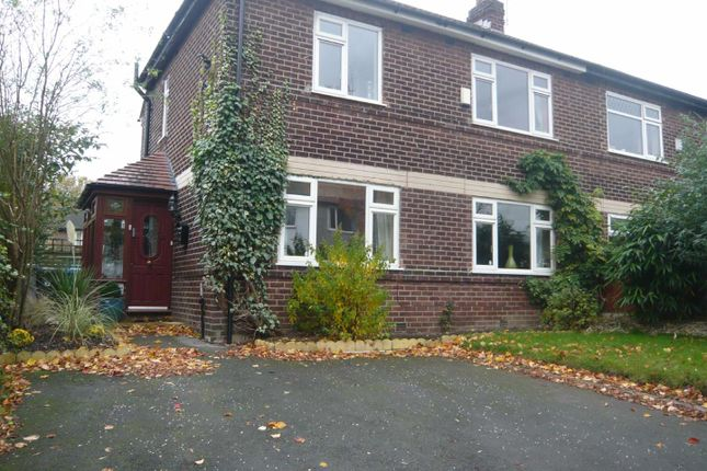 Thumbnail Semi-detached house to rent in The Grove, Flixton, Urmston, Manchester