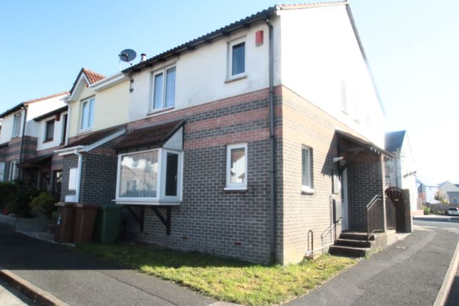 Thumbnail End terrace house to rent in Washbourne Close, Devnport, Plymouth
