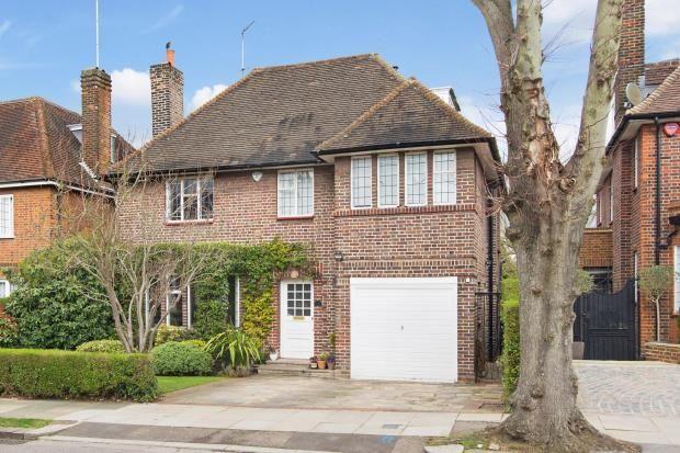 Thumbnail Detached house for sale in Linden Lea, Hampstead Garden Suburb, London