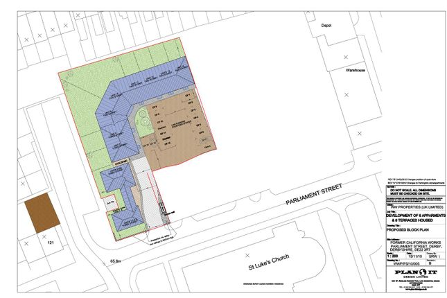Thumbnail Land for sale in Parliament Street, Derby
