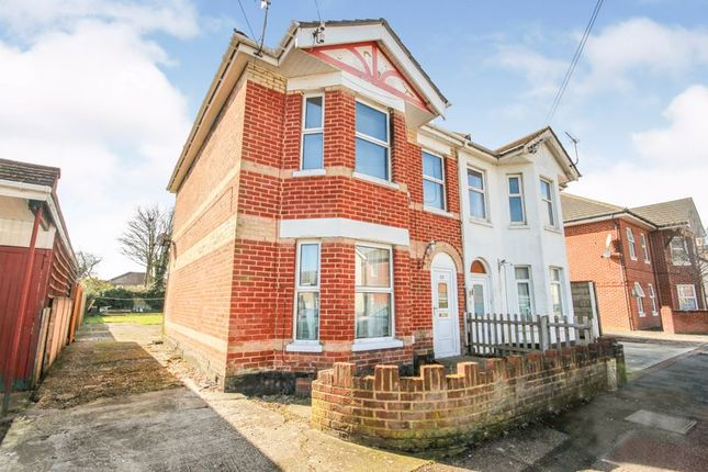 Thumbnail Semi-detached house for sale in Latimer Road, Winton, Bournemouth