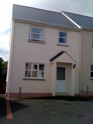 Thumbnail Semi-detached house to rent in Cae Gerddi, Goodwick