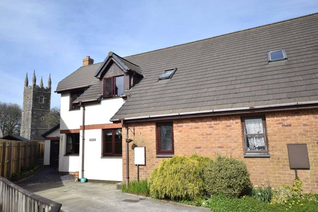 Thumbnail Semi-detached house to rent in St. Johns Drive, Bradworthy, Holsworthy