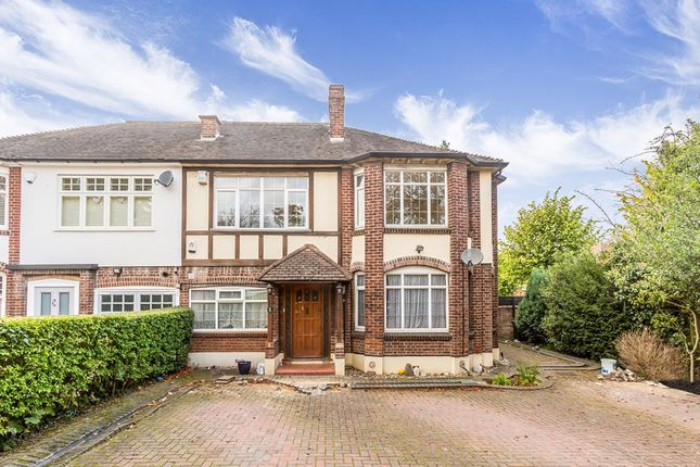 Thumbnail Semi-detached house to rent in High Road, Buckhurst Hill