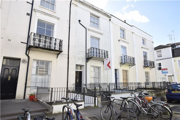 Thumbnail Maisonette for sale in Oakfield Place, Clifton, Bristol