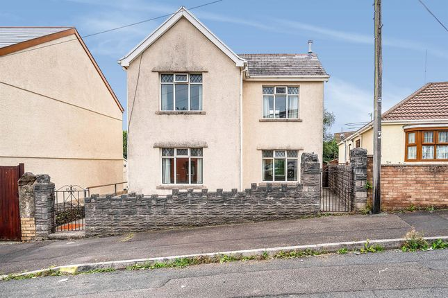 Thumbnail Detached house for sale in Moorland Road, Cimla, Neath