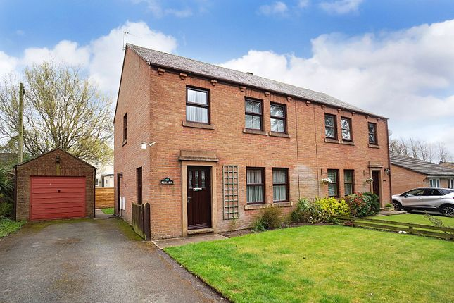 Thumbnail Semi-detached house for sale in Station Road, Carlisle