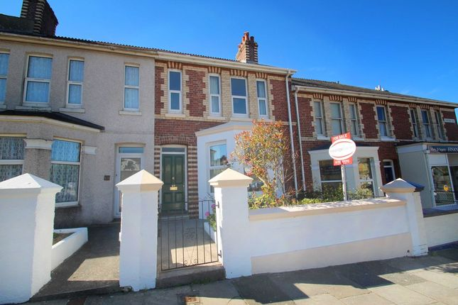 Thumbnail Terraced house for sale in Chestnut Road, Plymouth