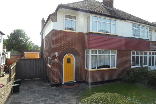 Thumbnail Semi-detached house to rent in Cloonmore Avenue, Farnborough, Orpington