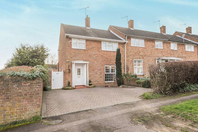 3 bed end terrace house for sale in Knightsfield, Welwyn Garden City