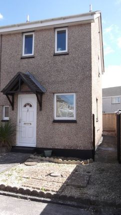 Thumbnail End terrace house to rent in Holly Close, Threemilestone, Truro