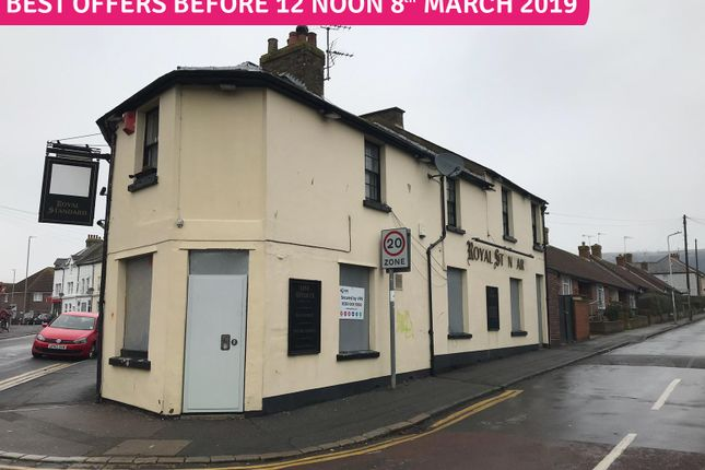 Thumbnail Pub/bar for sale in 60 Canterbury Road, Folkestone