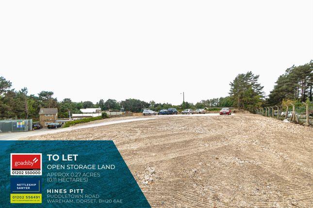 Thumbnail Land to let in Puddletown Road, Wareham